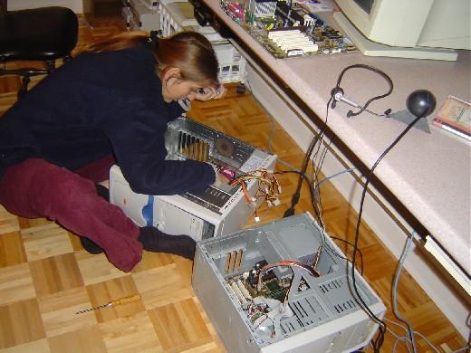 Bild bureau reparation de l ordinateur de la catégorie maison